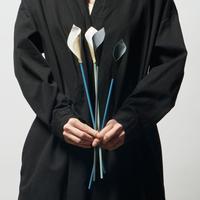 leather flower calla 【6/10〆切・納期1ヶ月程度】