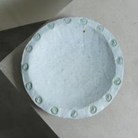水玉の大皿