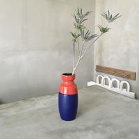 バイカラーの花器