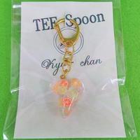 TEE Spoon レジンキーホルダー(柑橘)Kyo-chanコラボ