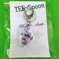 TEE Spoon レジンキーホルダー(音楽記号)Kyo-chanコラボ