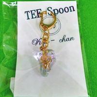 TEE Spoon レジンキーホルダー(金ト音記号B)Kyo-chanコラボ