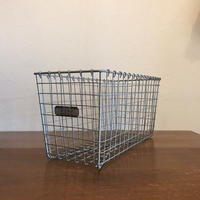Vintage Lyon Wire Gym Basket 【no.2322】