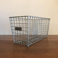 Vintage Lyon Wire Gym Basket 【no.4601】