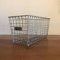 Vintage Lyon Wire Gym Basket 【no.2221】