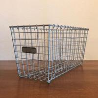 Vintage Lyon Wire Gym Basket 【no.4027】
