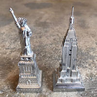 "Vintage ""Statue of Liberty & Empire State Bill"" Salt & Pepper"