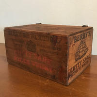 Antique Wooden Box 1930s