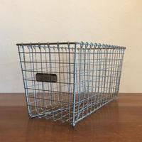 Vintage Lyon Wire Gym Basket 【no.3201】