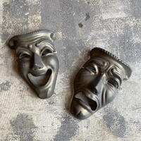 Brass Two Face Wall Decor