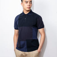 SUGARGLIDER CRAZY POLO SHIRTS [NAVY]