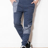 SUGARGLIDER Crazy Sweat Pants [NAVY CZ]