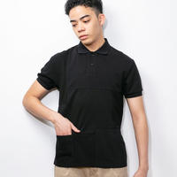 SUGARGLIDER  CRAZY POLO SHIRTS [BLACK]