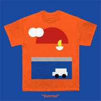"【一ノ瀬雄太】T-shirts ""Sunrise"""