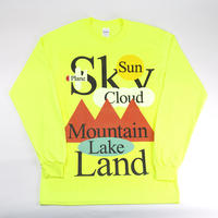 【一ノ瀬雄太】Long Sleeve - Yellow