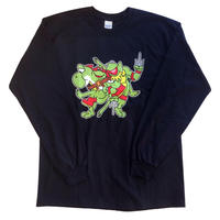 Mutant Lime Green Long-Sleeve T-Shirt
