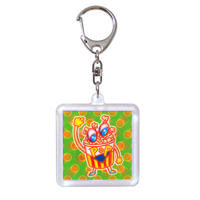 【NEONTOYS】3D KEY HOLDER『POP』