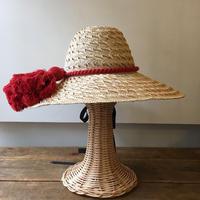 【Pauline Collection】天然草帽 アンティークタッセル