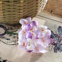 ビオラコサージュ(Purple)