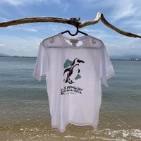 Tシャツ(ケープペンギン)- ホワイト