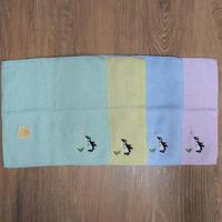 刺繍タオルハンカチ(ペンギン)