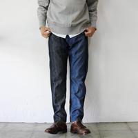 FUNSET OF ART ファンセットオブアート デニム刺し子5Pパンツ #インディゴ【送料無料】
