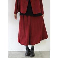 susuri ススリ イールズスカート #red 【送料無料】