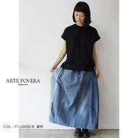 ARTE POVERA アルテポーヴェラ  リーバイスリメイクMIXスカート #デニムMIX【送料無料】