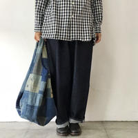 FUNSET OF ART ファンセットオブアート ART RANRU刺し子KESA BAG #インディゴ 【送料無料】