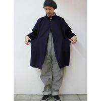 FUNSET OF ART ファンセットオブアート コットンシルク特濃藍染めTAISHOコート ♯インディゴ 【送料無料】
