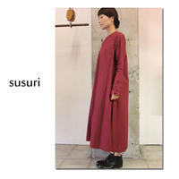 susuri ススリ ミィワンピース ♯rosso , black 【送料無料】