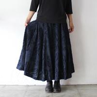 SUSURI ススリ トラピーズスカート #navy 【送料無料】