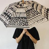 ツタエノヒガサ うさぎのたすき 日傘 ♯段々々、オハナ黒、