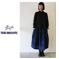 TigreBrocante ティグルブロカンテ スクエアドットポケットフィセルスカート ♯インディゴ【送料無料】