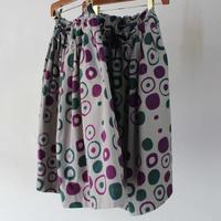 Tigre Brocante ティグルブロカンテ MARUMON注染ポケットフィセルスカート #グリーン【送料無料】
