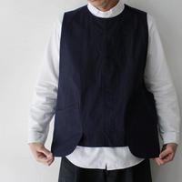 ASEEDONCLOUD アシードンクラウド working typewriter cloth seeding vest #indigo 【送料無料】