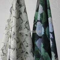 ASEEDONCLOUD アシードンクラウド Handkerchiefh ハンカチ バンダナスカーフ #Sheep,Ajisai