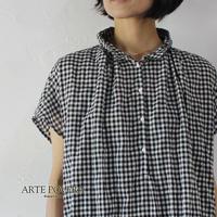 ARTE POVERA アルテポーヴェラ ギンガムバルーンシャツ #ギンガム【送料無料】