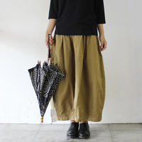 HARVESTY ハーベスティ チノ製品染サーカススカート ♯カーキベージュ、ブラック 【送料無料】