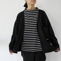 amne アンヌ DRAPEY cardigan #アイボリー、ブラック 【送料無料】