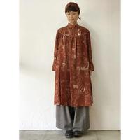 ASEEDONCLOUD アシードンクラウド Underground map print  Elves Dress #Brick 【送料無料】