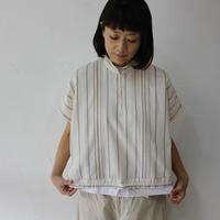 ASEEDONCLOUD アシードンクラウド plants on cloud stripe working blouse #オフ白 【送料無料】
