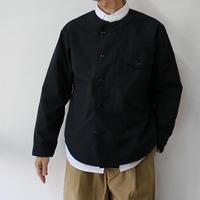 ohh!nisica オオニシカ ナイロンシャツジャケット #ブラック 【送料無料】