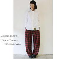 ASEEDONCLOUD アシードンクラウド Gaucho Trousers #ijujin tartan 【送料無料】
