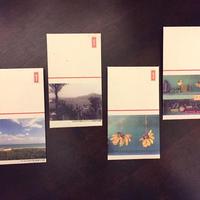 月桃紙ポチ袋 沖縄百景①(4枚入)