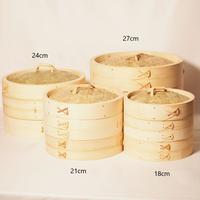 竹のせいろ 径18㎝ 身+蓋  (1段せいろ)