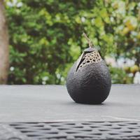 黒のランプ 果実