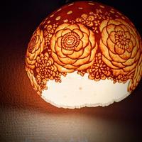 和のほの灯り 花かんむり