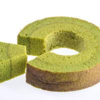 抹茶バウムクーヘン、Green Tea Baumkuchen (halal product)