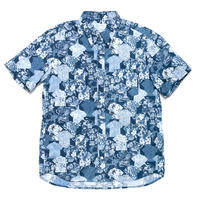 Hawaiian Button Down Shirts - Shirts Print / Made in Hawaii U.S.A.